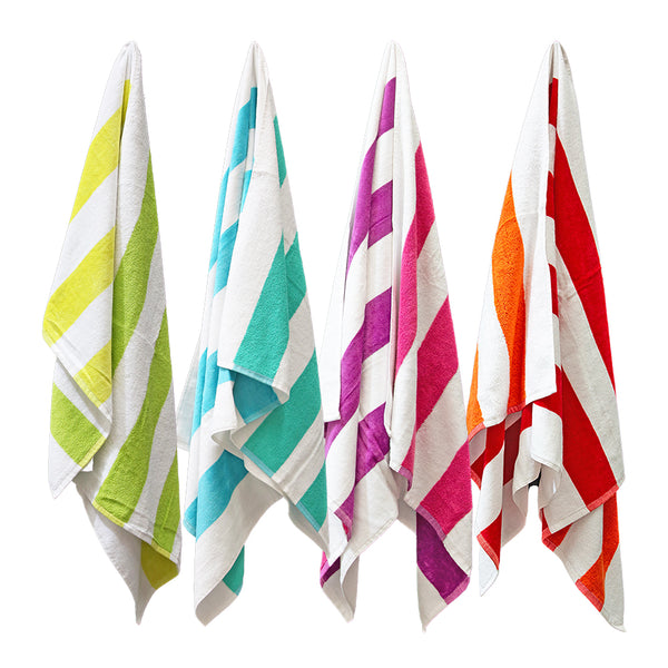 Reversible Beach Towel 76x152cm Assorted; Price Per Carton (1 carton = 12 towels)