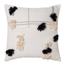 Load image into Gallery viewer, Josie Cushion 50x50cm Ivory/Black