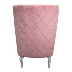 Cassie Chair 78x85x118cm Clay Pink; ETA Late March
