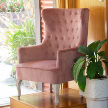 Load image into Gallery viewer, Cassie Chair 78x85x118cm Clay Pink; ETA Late March