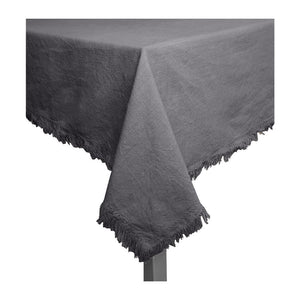 Avani Tablecloth 150x250cm Charcoal