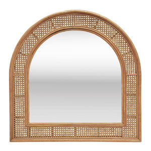 Elio Mirror 90x90cm Natural; ETA Mid May