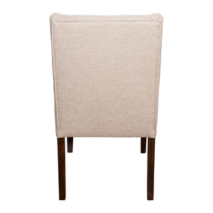 Florence Detailed Dining Chair 43x59x100cm Sandstone