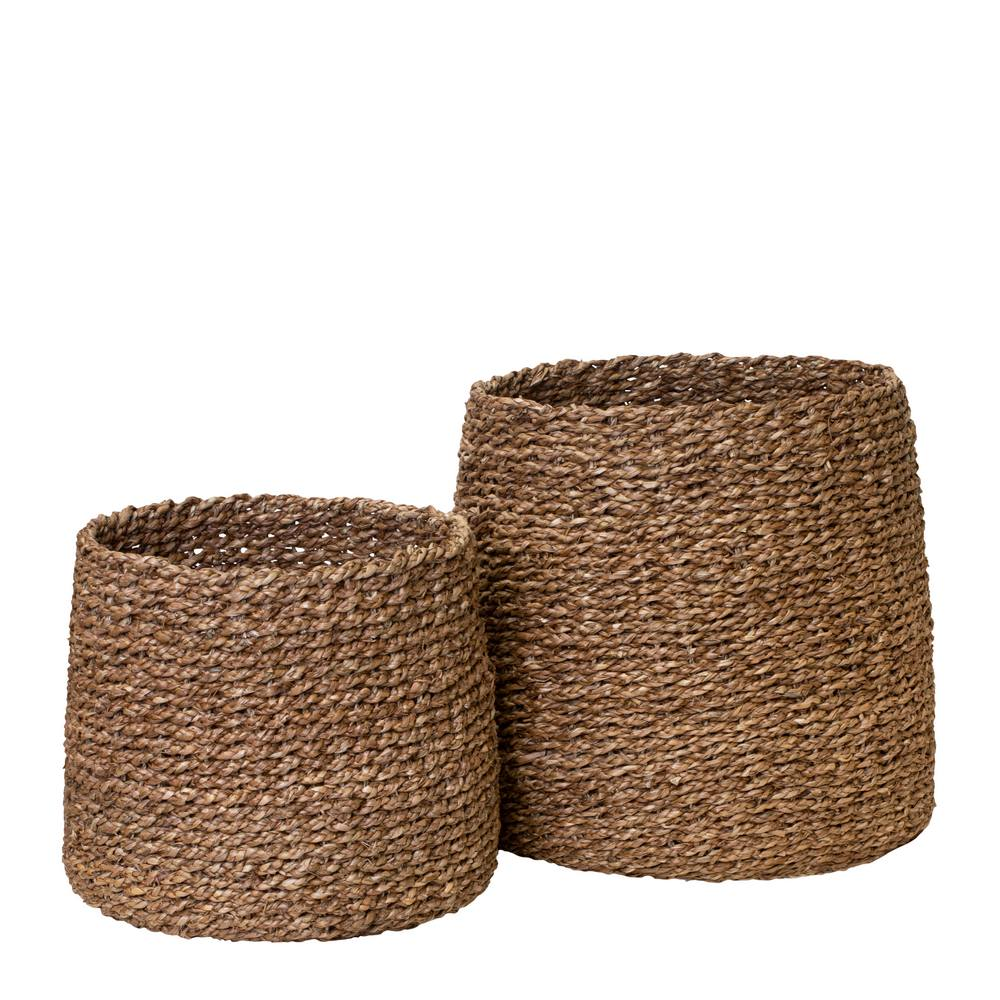 Johannes Set of 2 Baskets Natural; ETA Late March