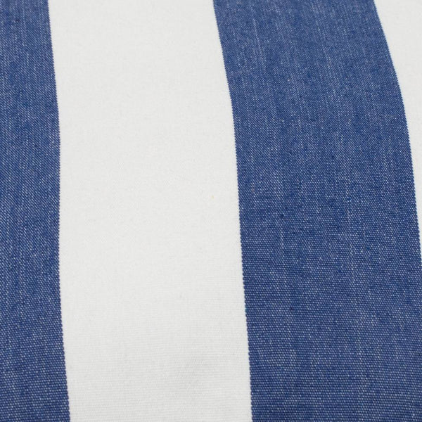 Stripe Cushion 45x45cm Blue; ETA Late March