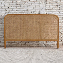 Load image into Gallery viewer, Seabrook Rattan King Size Bedhead 193x4x120cm; ETA March