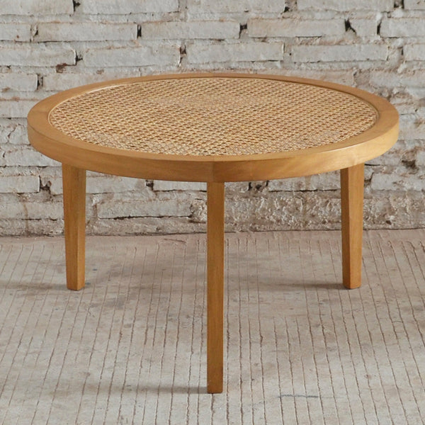 Seabrook Rattan Coffee Table 75x75x45cm Natural