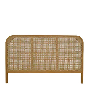 Seabrook Rattan King Size Bedhead 193x4x120cm; ETA March
