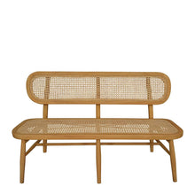 Load image into Gallery viewer, Seabrook Rattan Bench Seat 130x53x79cm;  ETA Late December