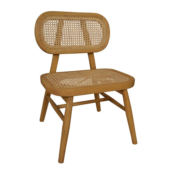 Seabrook Rattan Casual Chair 55x53x79cm (ETA Late Sept)