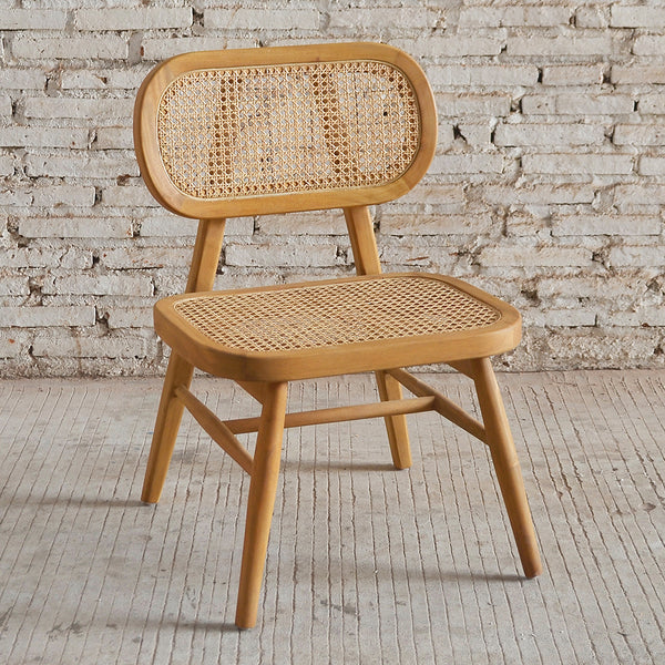 Seabrook Rattan Chair 55x53x79cm Natural