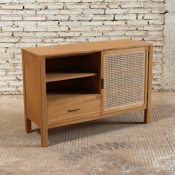 Seabrook Rattan Sideboard 110x40x75cm Natural