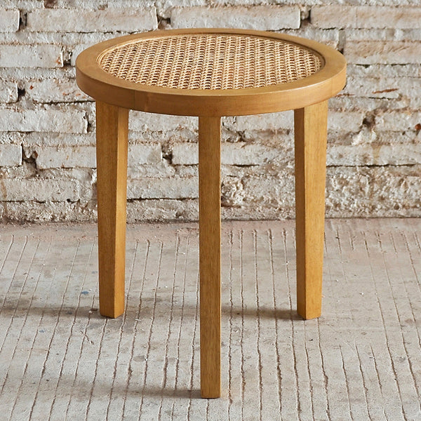 Seabrook Rattan Side Table 40x40x45cm