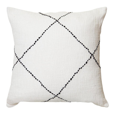 Sierra Cushion 50x50cm Ivory ( APPROX ETA MID - END APRIL )