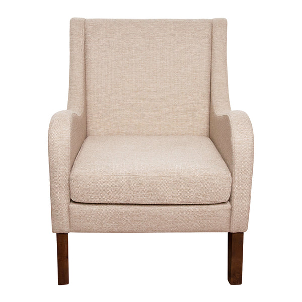 Spencer Winged Arm Chair 69x68x90cm Sandstone;  ETA December 4th