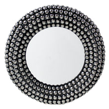 Load image into Gallery viewer, Valentina Mirror 66cm Antique Silver