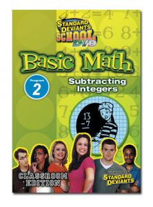 SDS Basic Math Module 2: Subtracting Integers