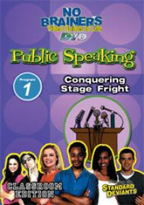SDS NB Public Speaking Program 1: Conquering Stage Fright