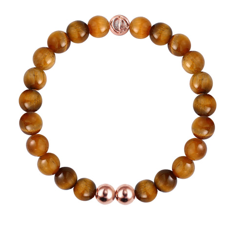 ORIGINAL TIGER EYE/ROSE GOLD 25