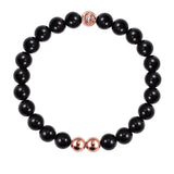 ORIGINAL BLACK ONYX/ROSE GOLD 25