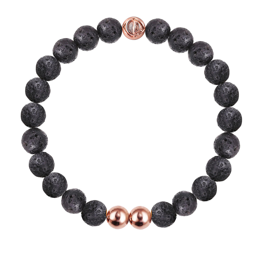 ORIGINAL LAVA STONE/ROSE GOLD 25