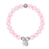 ORIGINAL ROSE QUARTZ/SILVER 23