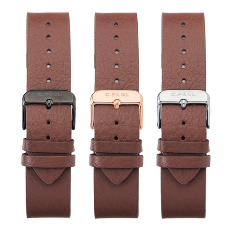 43mm BROWN STRAPS