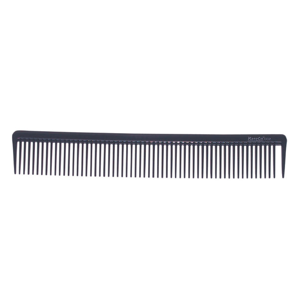Wide Tooth Artist Comb Pack in Charcoal Gray