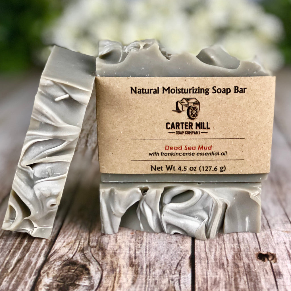 Dead Sea Mud Soap with frankincense