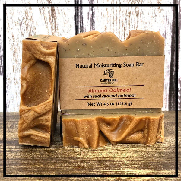 Oatmeal and Almond Soap Bar