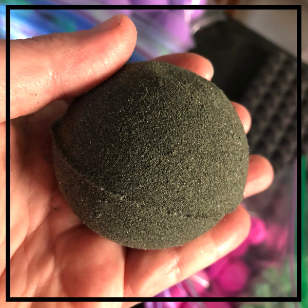 Bath Bomb - Activated Charcoal