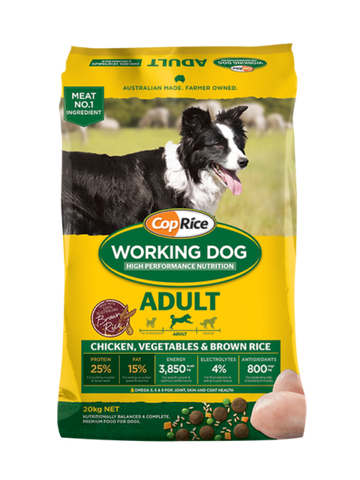 CopRice working dog adult 20kg