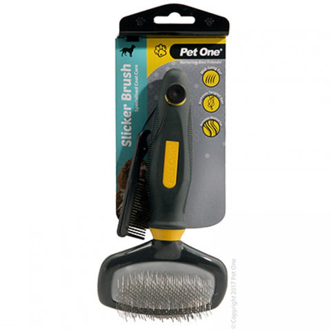 Pet One grooming slicker brush
