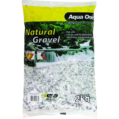 Aqua One natural gravel all sorts