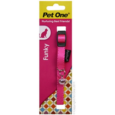 Pet One funky cat collar