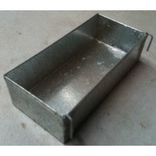 Rectangle metal feeder 18cm x