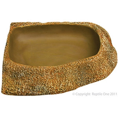 Reptile One bowl corner 20.2 x