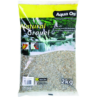 Aqua One natural gravel gold mix