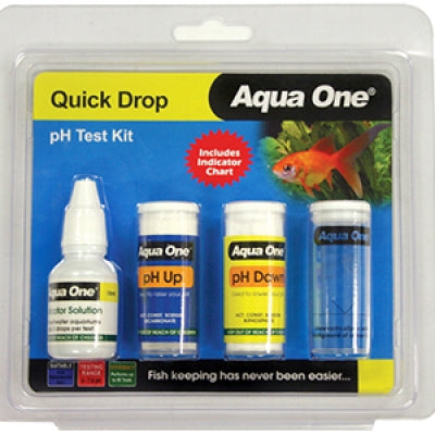 Aqua One Quick drop pH test ki