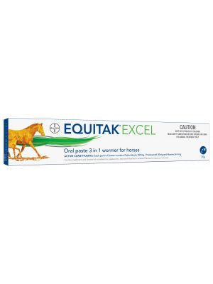 Equitak excel wormer for horses 30g