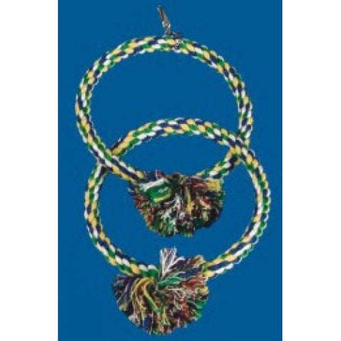 Rope double rings hanging parr
