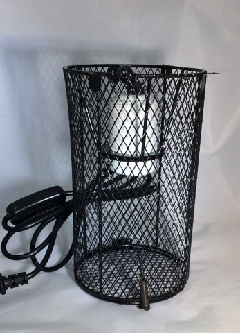 Heat lamp safety net enclosure Reppet