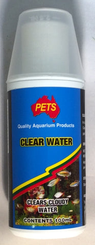 Pets clear water