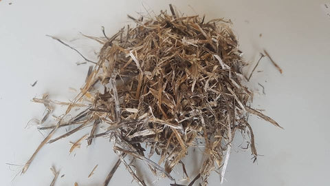 Clover straw compressed bale