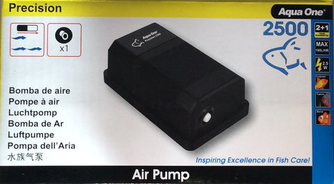 Precision 2500 air pump single
