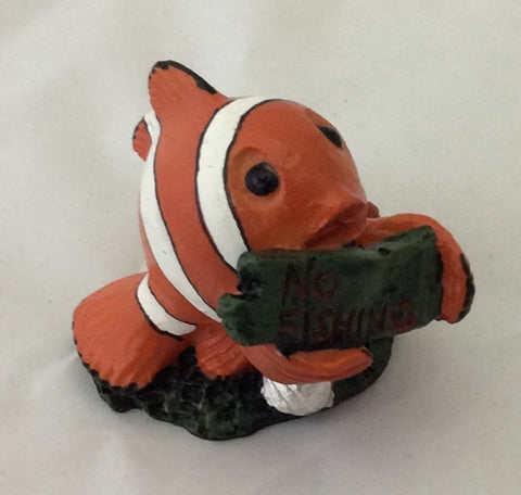 "Nemo ""no fishing"" ornament"