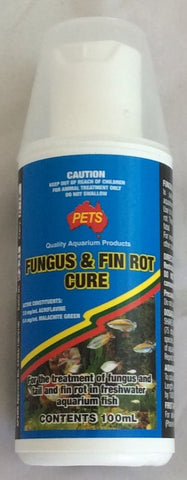Pets fungus & fin rot cure
