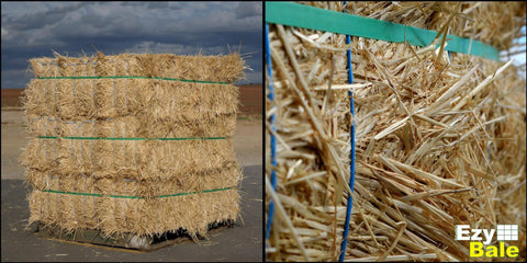 straw bale compressed