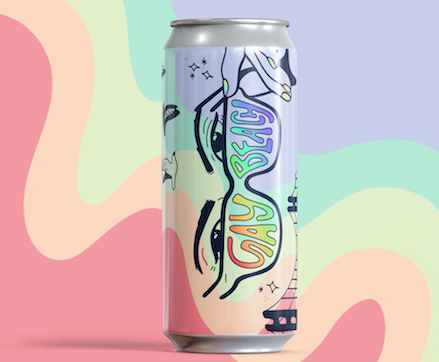 Pre-Order > Gay Beach Tropical Blonde 4Pack (Shipping 6/3)