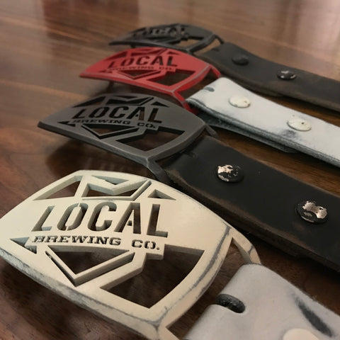 Local Belt Buckle & Belt